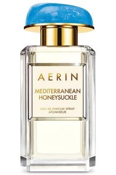 Mediterranean Honeysuckle Aerin Lauder for women... Sweet honeysuckle and luminous grapefruit will take us to the Mediterranean beaches. The composition is accompanied with Italian bergamot warmed with sun and mandarin oil, making floral notes juicier. The floral bouquet, besides honeysuckle, allures us with lily of the valley, gardenia and sambac jasmine absolute.