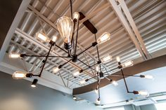 Such a cool, modern space! Modern Spaces, Track Lighting, Discovery, Centre, Ceiling Lights, Cool Stuff, Home Decor, Cool Things, Homemade Home Decor