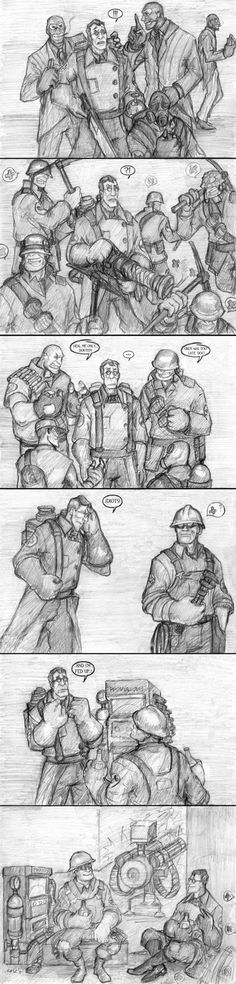 TF2: Medic on Leave by n-dorfine.deviantart.com on @deviantART