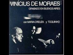 Vinicius de Moraes & Toquinho & Maria Creuza Mas Que Nada - YouTube