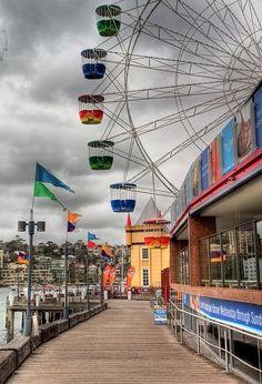 Luna Park - Milsons Point on Sydney Harbour in the shadow of the Bridge. Tasmania, Dream Vacations, Vacation Spots, Luna Park Sydney, Places Around The World, Around The Worlds, Terra Australis, Land Of Oz, Australia Travel