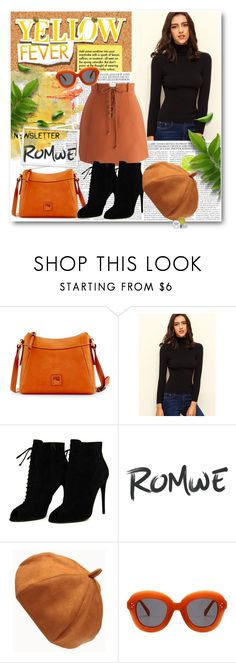 """""""Bez naslova #215"""" by mandarina-i ❤ liked on Polyvore featuring Dooney & Bourke, Chicwish, Tom Ford and Fig+Yarrow"""