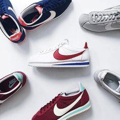 Sneakers femme - Nike Cortez collection (©leblogdelucinda)