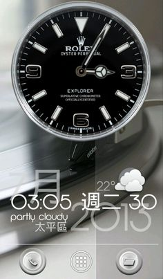 [Homepack Buzz] Check this awesome homescreen! eric168 | My Homepack nice clock