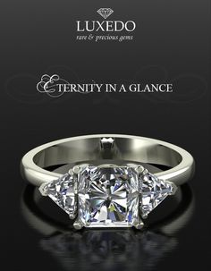 Eternity in a Glance. Choose your unique diamonds and give life to an… Diamond Rings, Diamond Jewelry, Engagement Tips, Fine Jewelry, Jewellery, Diamonds, Designers, Jewelry Design, Bling