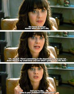 Season 1, Episode 1, these are the first lines every to be spoken on New Girl