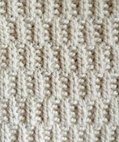 """Rambler pattern portion is knit,  purl....Stitch Block Cowl 