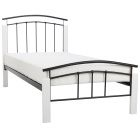 Add a touch of contemporary charm to your home with the Serene Tetras Metal and Wooden Bed Frame in White and Black This stylish metal bed frame has a…