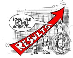 Teamwork! Together we can achieve RESULTS!
