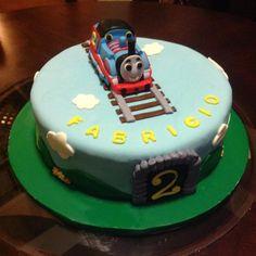 Thomas train Cake by ~Marce07 on deviantART