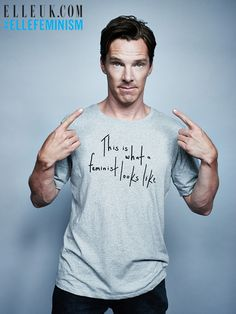 I did not know that Benedict was a feminist! I figured he was, but now this confirms it! Sheesh, this guy just keeps getting better and better!!!