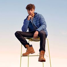 Timberland Boots Outfit, Timberlands, Spiced Pretzels, Man Boots, Timberland 6 Inch, Stylish Mens Outfits, 6 Inches, Circuit, Hot Guys