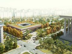 00_Aerial View_Image Courtesy of HAEAHN Architecture and H Architecture