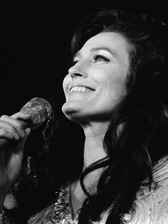 Country singer Loretta Lynn--so beautiful, genuine, and not afraid to tell it like it is.