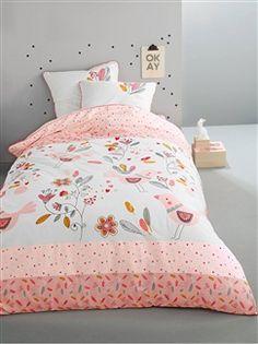 Habitación y ropa de cama y cuna-Ropa de cama y cuna, ropa de baño-Ropa de cama niños-Conjuntos de ropa de cama-Pajaritos
