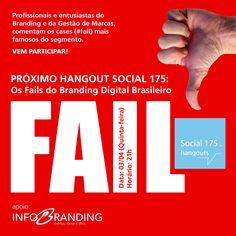Tema: Os Fails do Branding Brasileiro. Com Denis Zanini e Sandru Luis. Clique e assista!
