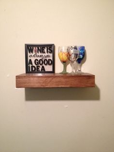 Hey, I found this really awesome Etsy listing at https://www.etsy.com/listing/231767502/17-inch-oak-wood-floating-shelf-rustic