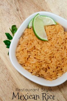 Restaurant Style Mexican Rice Recipe You know the rice at Mexican restaurants. No, I mean actual Mexican restaurants. Where everyone but the waitperson is speaking Spanish and the whole dinning area feels like a canteena. After you eat the food there you will need a bathroom finder on your phone for later. That Mexican restaurant's … Continue reading »