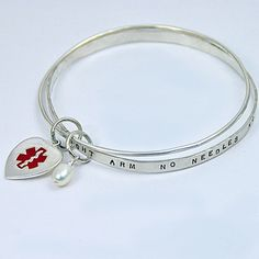 I like this as an alternative to boring medic alert bracelets.