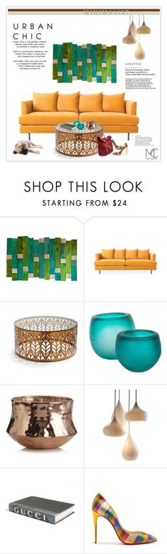 """""""Happy HOME"""" by mcheffer ❤ liked on Polyvore featuring interior, interiors, interior design, home, home decor, interior decorating, Gus* Modern, Frontgate, Barclay Butera and Illume"""