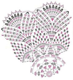View album on Yandex. Crochet Doily Diagram, Crochet Doily Patterns, Crochet Mandala, Crochet Chart, Thread Crochet, Filet Crochet, Crochet Motif, Knit Crochet, Crochet Dollies