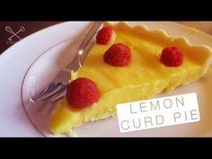 Lemon Curd Pie - Confissões de uma Doceira Amadora - YouTube