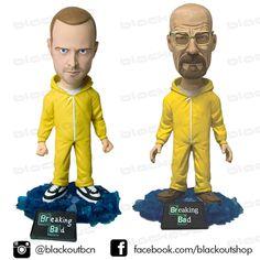 Breaking Bad, cabezones Walter y Jesse.