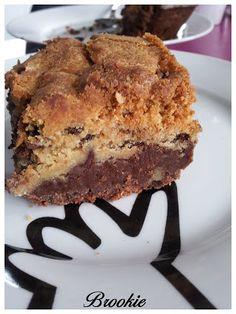 La vie se mange: Brookie ou le mariage dun brownie et dun cookie !