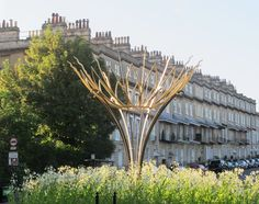 The Ironart Sun Flower - on Bathwick Hill in the centre of Bath..