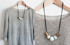 Stop Pinning, Start Making: DIY Statement Necklace | Whimseybox