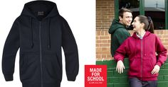 Stay in control of the warmth with our Flinders Fleecy Hooded Jacket. Zip it up and pop the hood on…