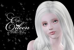 Eileen female model by MoonFairy - Sims 3 Downloads CC Caboodle