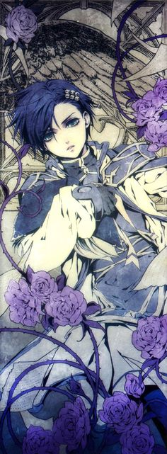 Ciel Phantomhive - not sure if this is really Ciel since his eye is normal. But…