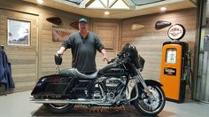 Congratulations Cary on your purchase of a 2017 FLHX street glide from me here at Harley Davidson of Kokomo!