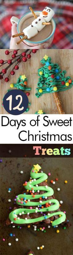 12 Days of Sweet Christmas Treats  Christmas Treats, Christmas Recipes, DIY Christmas Recipes, Chrismtas Treats, Homemade Christmas Treats, #Christmas #ChristmasTreats #ChristmasRecipes, #RecipeIdeas