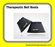 Therapeutic Bell Boots Provide Gentle Warmth Therapy to Your Horse's Hooves.  Our unique Welltex ceramic infused material reflects your horse's own body heat resulting in increased blood flow to horse's hooves.  #backontrackproducts #therapeuticbellboots   http://www.backontrackproducts.com/Horse-Products/Horse-Knee-Hock-Bell-Boots/Therapeutic-Bell-Boots-p316.html