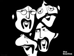I was fortunate enough to be asked to create an illustration that would be featured on a poster that celebrated your favorite band of all time: The Beatles. The Beatles 1, Beatles Poster, Beatles Art, Beatles Songs, Eye Illustration, Avengers Art, Arte Horror, Rock Posters, Drawing Reference Poses