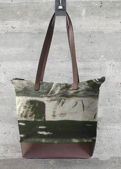 VIDA Statement Bag - Hydrangeas by VIDA 2NxMKIv4