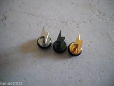 CHOOSE ONE 16g LIGHTNING BOLT Tragus Labret Cartilage or Earring.