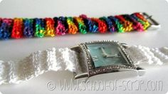 WATCHES EMBELLISH WITH CROCHET STRAP
