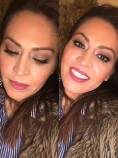 Love our new #Moodstruck #Crush Cream lip powder on Marlen, in #Casual  it can be found under #Kudos when shopping on our site  #YLook #GetTheLook #Younique #CrushingYourKiss