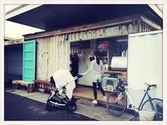 Container cafe, Waterview, Auckland #coffee #Waterview