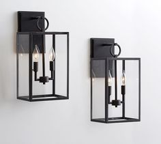 """Manor Contemporary Glass Sconce 