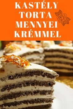 Cakes, Cooking, Breakfast, Ethnic Recipes, Food, Mascarpone, Hungarian Recipes, Kuchen, Kitchen