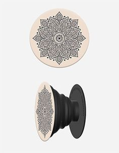 POPSOCKETS Chakra Phone Stand And Grip Beige
