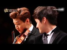 Henry and Shin Ji Ho - violin and piano medley performance.