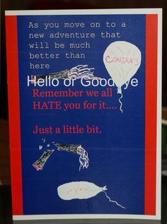 Farewell Messages for a Colleague That's Leaving the ...