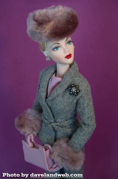 JS Gene Marshall ~ 'Phoenix' in IT 'Suited for Fur' ~ Image and styling by Dave ~ The Studio Commissary/kw