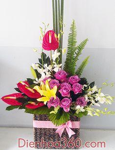Hoa sinh nhật đẹp, shop hoa online, gửi điện hoa giá rẻ | Hoa sinh nhật - Touch Version
