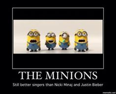The Minions singers